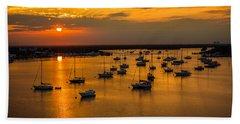 Matanzas Harbor Hand Towel