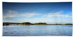 Blue River Inlet  Bath Towel