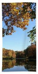 Matthiessen Lake In Autumn Bath Towel