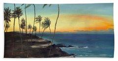 Maui Hand Towel by Carol Sweetwood