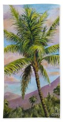Maui Palm Hand Towel by William Reed