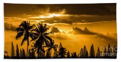 Maui Sunset Hand Towel