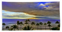 Maui Sunset At Hyatt Residence Club Hand Towel