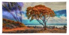 Maui Trees ... Bath Towel