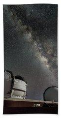 Mauna Kea Night Hand Towel by Allen Biedrzycki