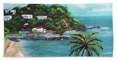 Maunabo Puerto Rico Hand Towel by Luis F Rodriguez