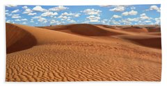 Mauritania Sahara Desert Bath Towel