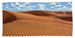 Mauritania Sahara Desert Hand Towel