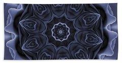Mauve Rose Mandala Hand Towel