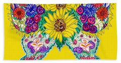 May Butterfly Bath Towel