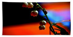 Bath Towel featuring the photograph May Flowers by Susanne Van Hulst