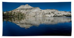May Lake Panorama Hand Towel