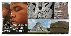 Mayan Olmec Hand Towel
