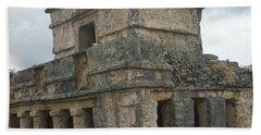 Mayan Stone Homes  Bath Towel