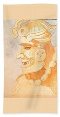 Mayan Warrior Hand Towel