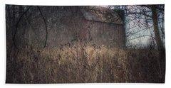0025 - Mayville's Hidden Barn I Hand Towel