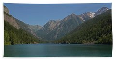 Mcdonald Lake- Ronan Montana Hand Towel