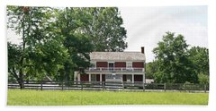 Mclean House Appomattox Court House Virginia Bath Towel