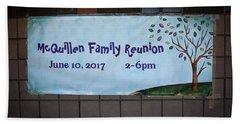 Mcquillen Family Reunion 2017 Hand Towel