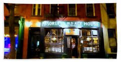 Mcsorleys At Night Hand Towel