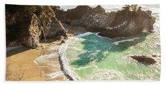 Mcway Falls, California Bath Towel