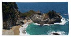Mcway Falls In Big Sur Hand Towel