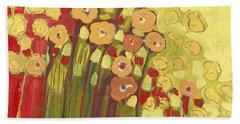 Meadow In Bloom Hand Towel
