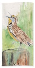 Meadowlark Hand Towel