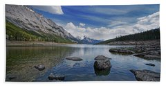 Medicine Lake, Jasper Bath Towel