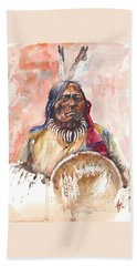 Medicine Man Bath Towel