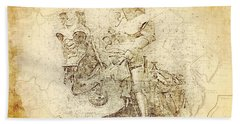 Medieval Europe Hand Towel