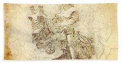 Medieval Europe Bath Towel