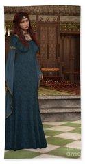 Medieval Queen Hand Towel