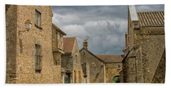 Medieval Village In France Bath Towel