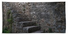 Medieval Wall Staircase Hand Towel