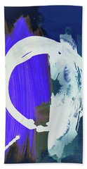 Meditation, White Enso, The Breakthrough Bath Towel