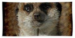 Meerkat 4 Hand Towel