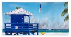 Meet At Blue Lifeguard Bath Towel