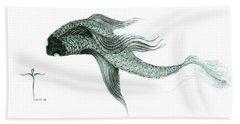 Megic Fish 1 Hand Towel