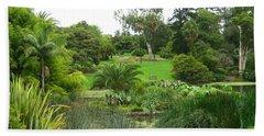 Melbourne Botanical Gardens Bath Towel