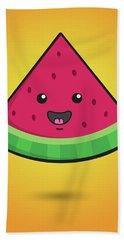 Melon Head Hand Towel