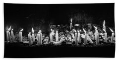 Memorial Candles II Bath Towel