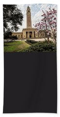 Memorial Tower - Lsu Hand Towel by Scott Pellegrin