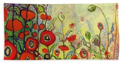 Memories Of Grandmother's Garden Hand Towel