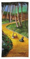 Memories Of Oz Hand Towel by Randy Burns