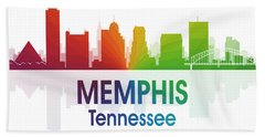 Memphis Tn Hand Towel