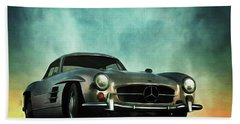 Mercedes 300sl Bath Towel