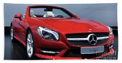 Mercedes Benz Sl Hand Towel