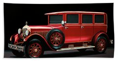 Mercedes-benz Typ 300 Pullman Limousine 1926 Painting Hand Towel
