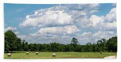 Mercer County Landscape Hand Towel